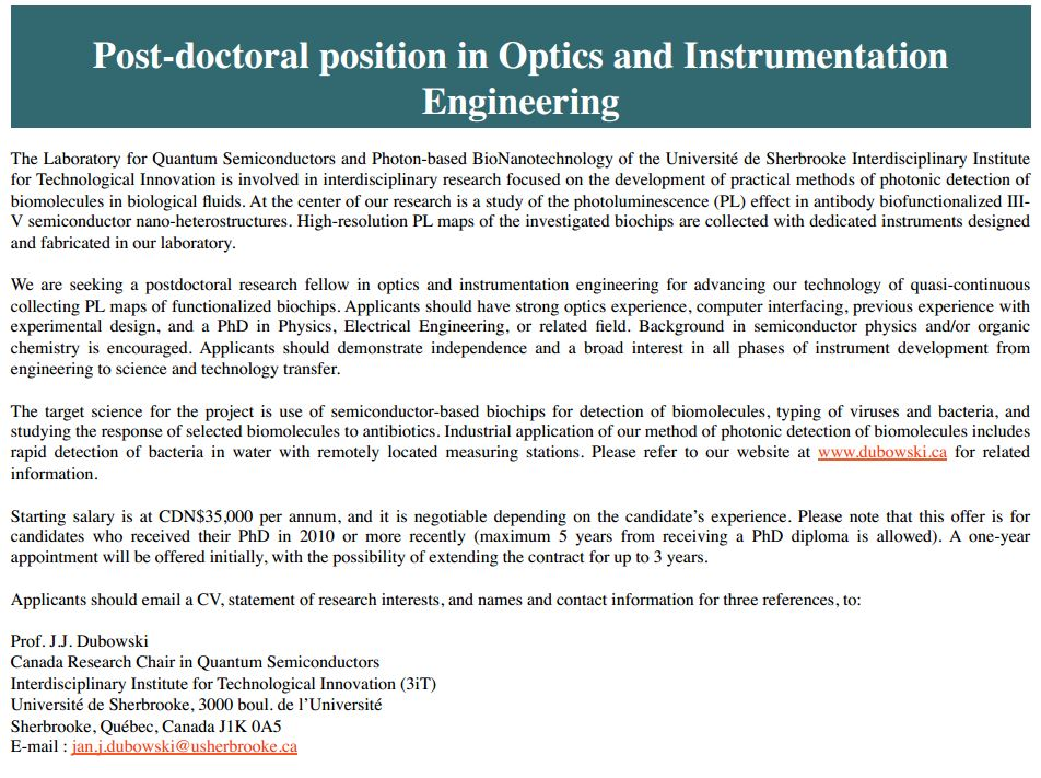 OPTICS and INSTRUMENTATION ENGINEERING