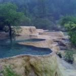 July 3, 2011: The Juizhaigou National Park, is a UNESCO World Heritage Site.]