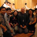 The 12th International Symposium on Laser Precision Microfabrication, June 7-10, 2011, Takamatsu, Japan: At the reception