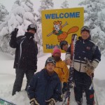 A ski trip to Nagano Yakebitaiyama, March 4, 2011.