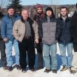 Taken in February 2005. From left: Khalid Moumanis, Radoslaw Stanowski, Richard Piechowski, Jan J. Dubowski, Jonathan Genest, Ximing Ding, Omar Musaev, Etienne Shaffer and ErikaBeaupré (Etienne's girlfriend).